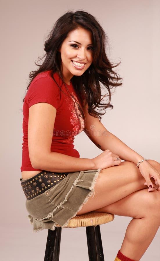 Download Beautiful Multi Ethnic Woman Stock Image - Image: 6151303