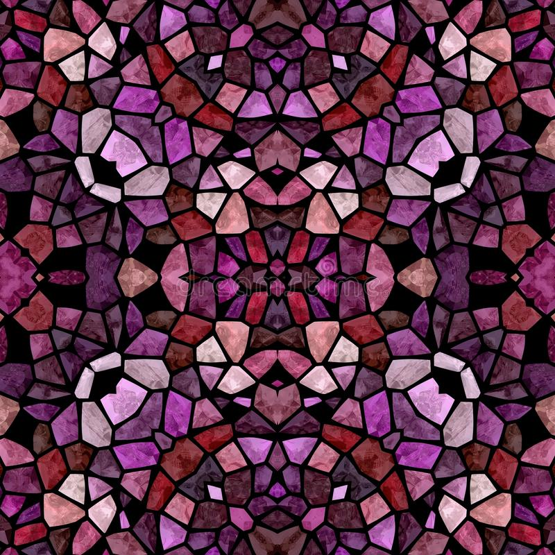 Beautiful multicolor kaleidoscope pattern texture, seamless pattern with many color royalty free stock photography