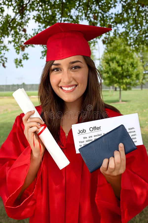 Graduate Job stock photos