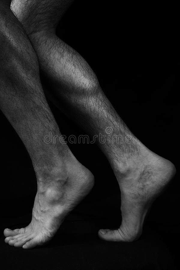 Beautiful, Muscular, Bare Male Feet Stock Image - Image of muscular ...