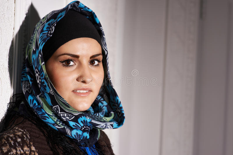 Download Beautiful Muslim girl stock image. Image of concept, cultural - 29642749