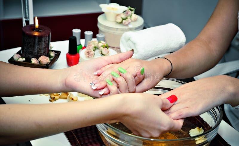 Beautiful Nails 3 Stock Image