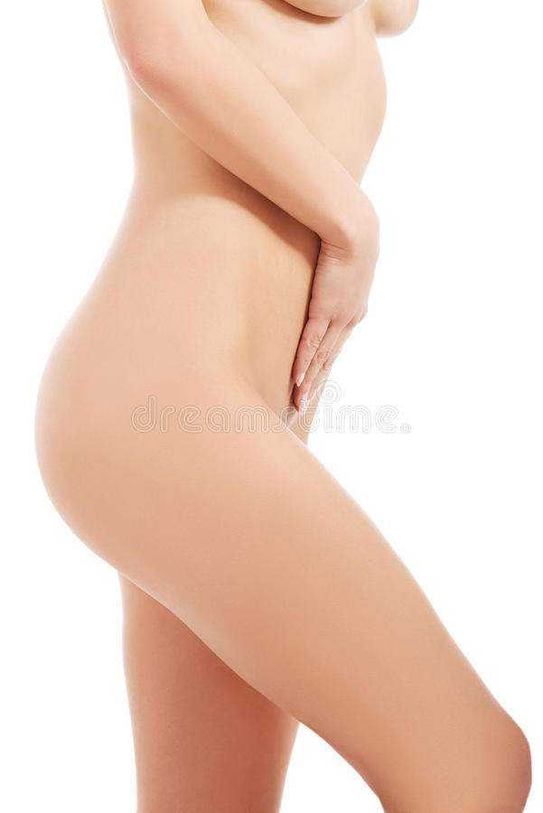 Download Beautiful Naked Woman. Thigh With Hand. Stock Image - Image: 36027017