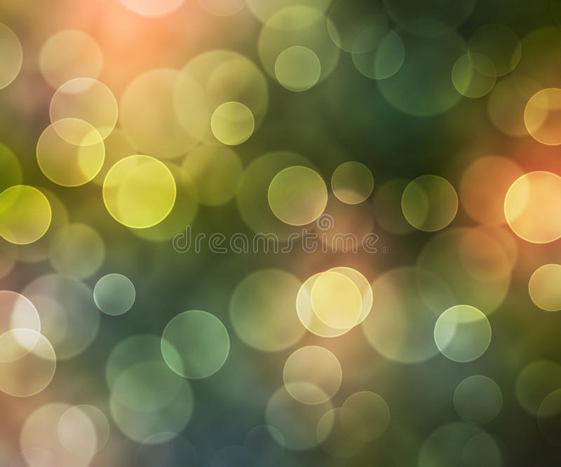 Beautiful Natural Bokeh Background stock illustration