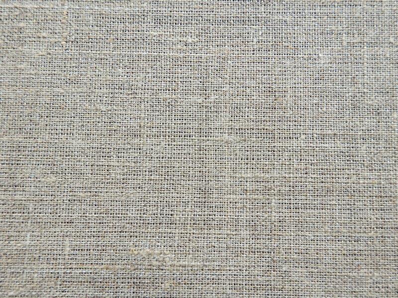 Beautiful natural linen fabric stock photo