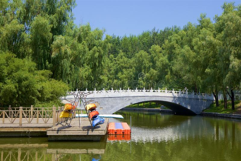 Chaoyang park, Beijing. Beautiful nature in Chaoyang park, Beijing, China royalty free stock photography