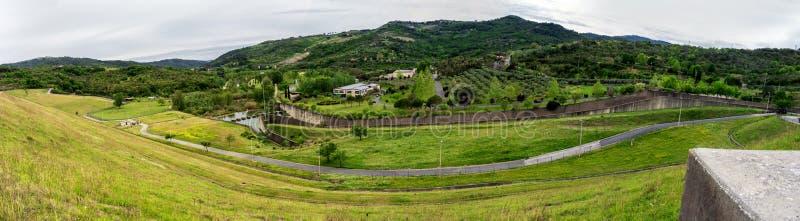 Cilento mountains. Beautiful nature in Cilento mountains stock photo