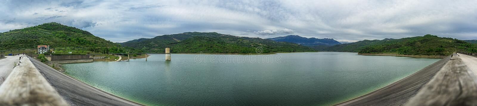 Cilento river. Beautiful nature in Cilento river coast royalty free stock images