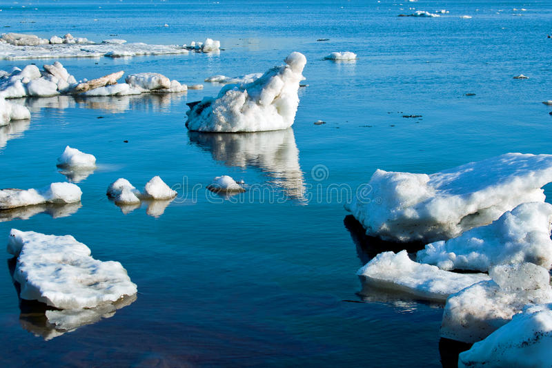 Beautiful nature, ice royalty free stock photo