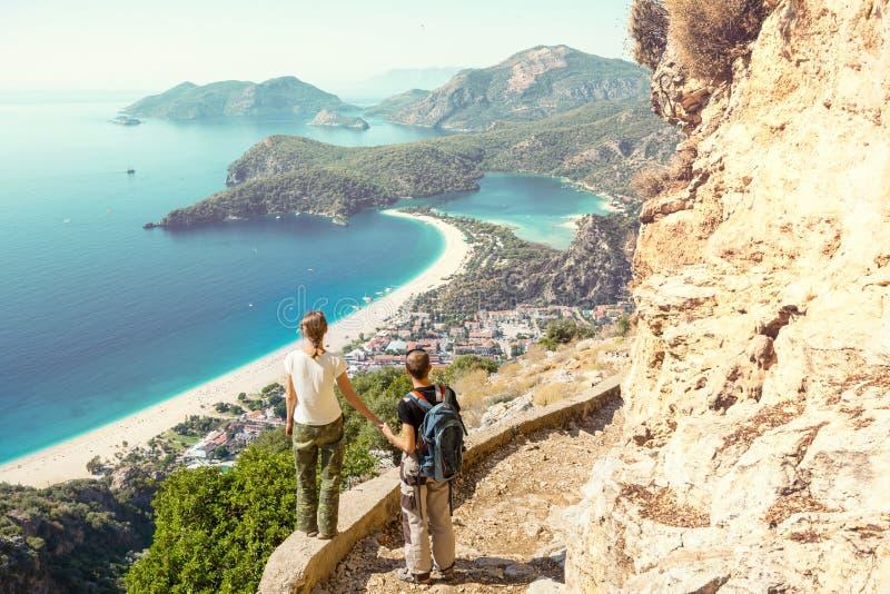 Lycian way stock photo