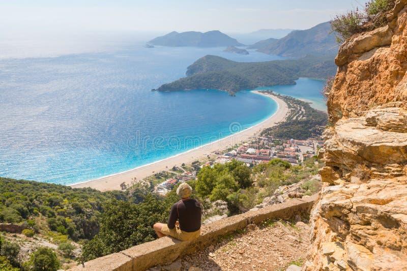 Lycian way royalty free stock photography
