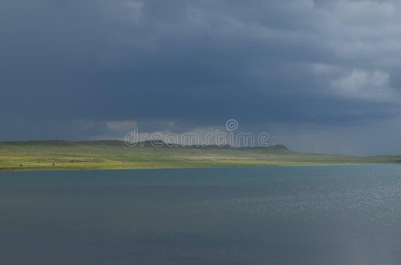 Beautiful nature of Siberia stock photos