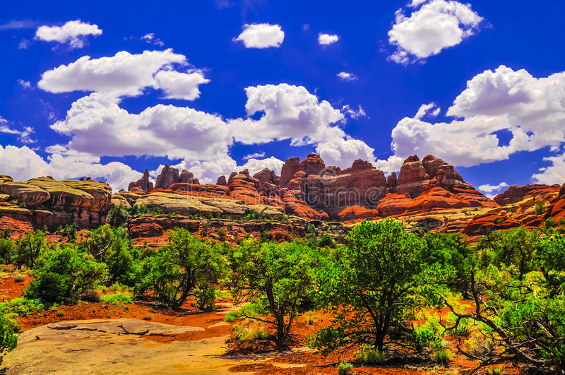 Download Beautiful Needles stock image. Image of remote, moab - 31881235