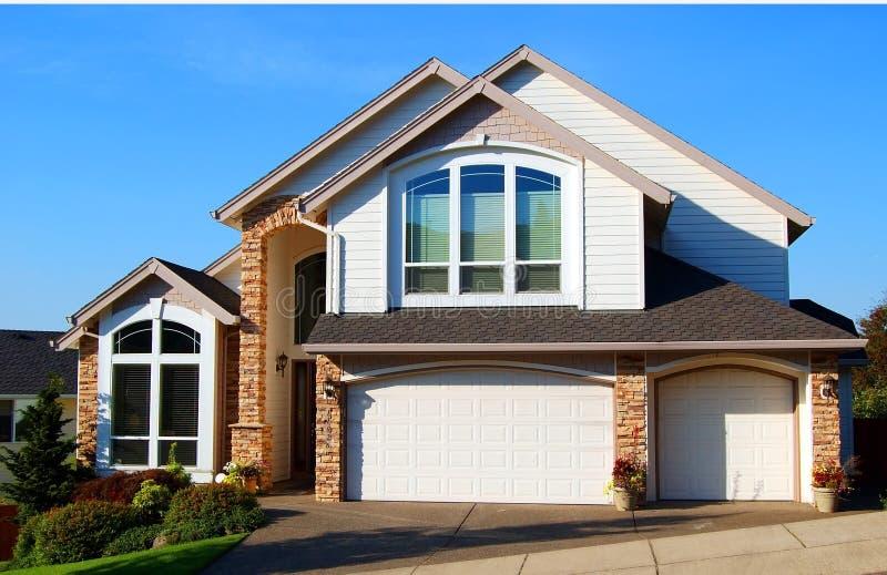 Beautiful New Home stock image