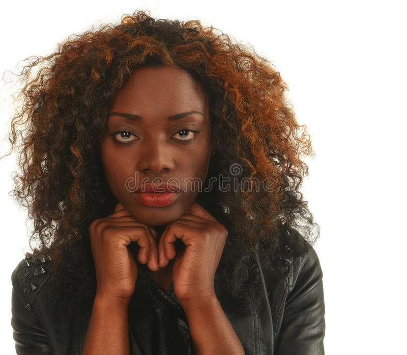 Beautiful Nigerian Woman Royalty Free Stock Photos