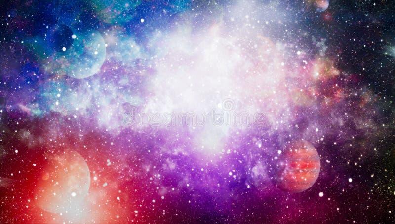Galaxy creative background. Starfield stardust and nebula space. background with nebula, stardust and bright shining stars. stock photography