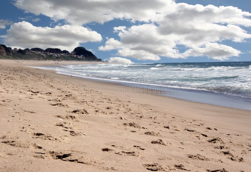 Download Beautiful Ocean Landscape With Bright Sky Stock Image - Image: 730231