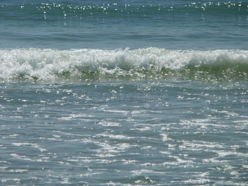 Beautiful Ocean Waves stock image