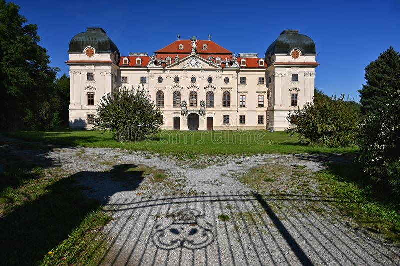 Beautiful old castle Riegersburg in Austria royalty free stock photos
