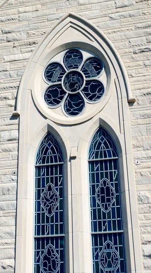 Old church window stock image