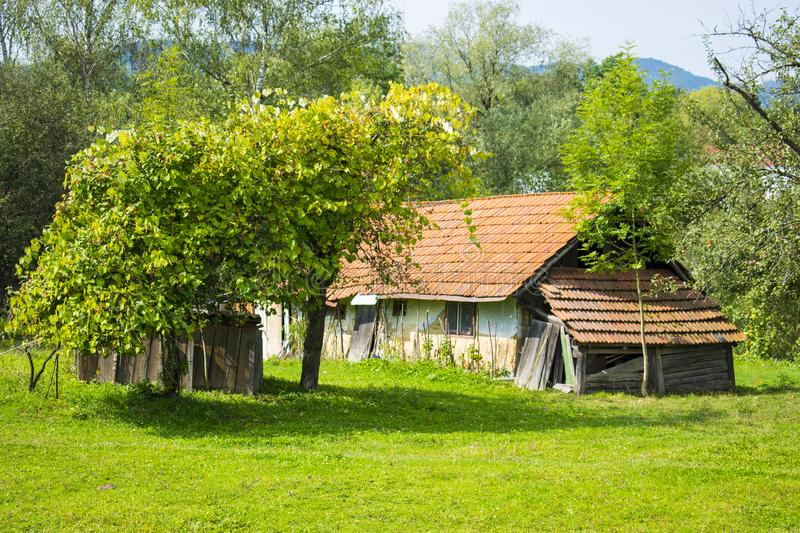 Download Old Farmhouse In Ukraine Stock Image Of Vacation