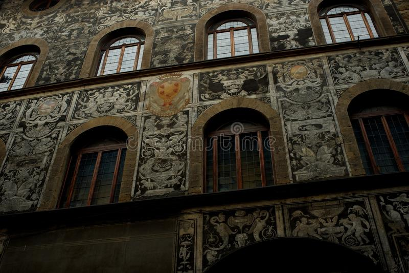 Download Beautiful old house facade stock photo. Image of italian - 26013194