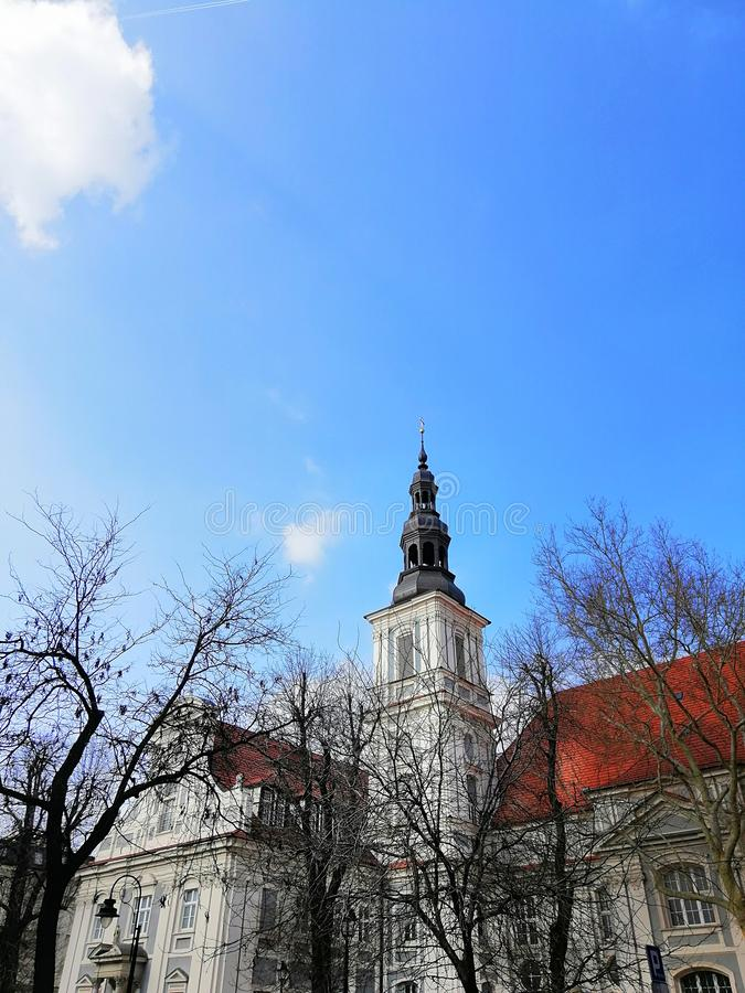 Beautiful city of Wrocław, Silesia, Poland. royalty free stock photos