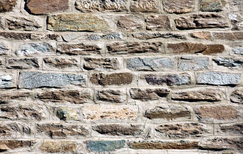 Beautiful old stone wall royalty free stock image