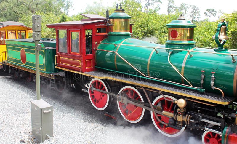 Beautiful old train royalty free stock images