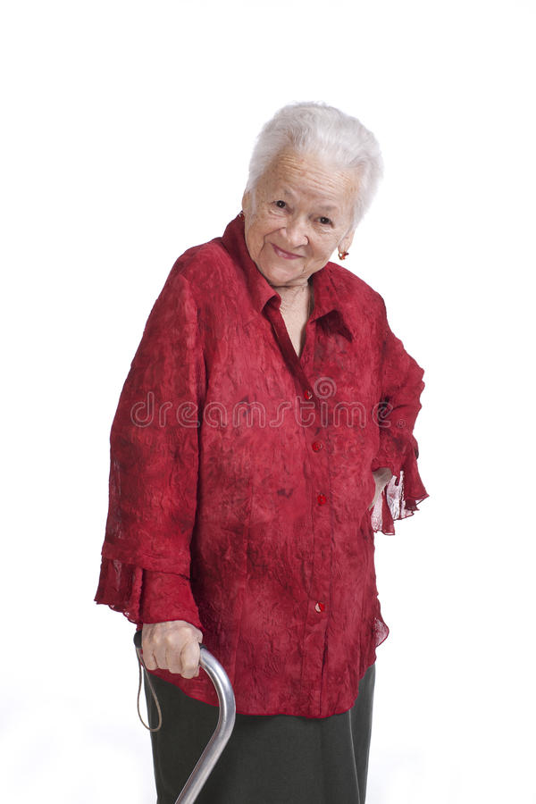 Download Beautiful old woman stock photo. Image of hands, healthy - 29085952
