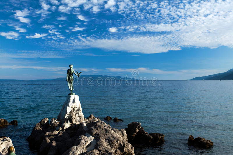 Beautiful Opatija! royalty free stock photo