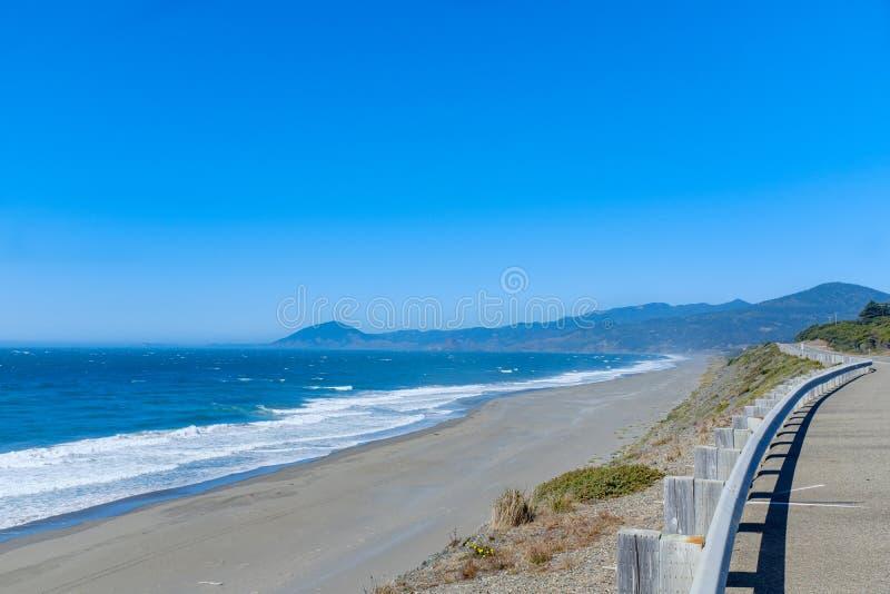 Beautiful Oregon Pacific Coastline. Near Bandon, Oregon, USA royalty free stock images