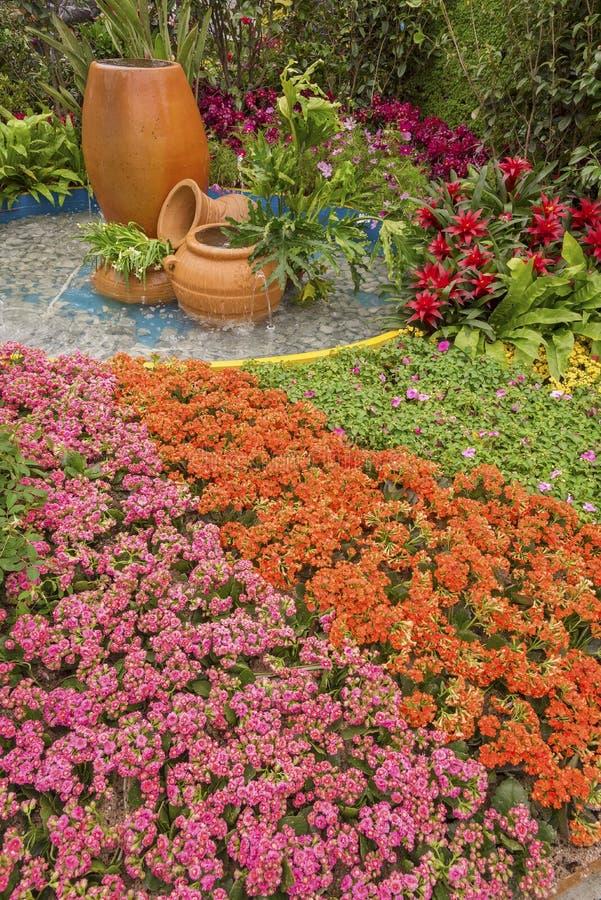 Beautiful ornamental garden royalty free stock photography