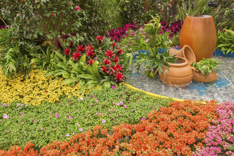 Beautiful ornamental Garden royalty free stock images