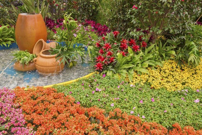 Beautiful ornamental Garden royalty free stock image