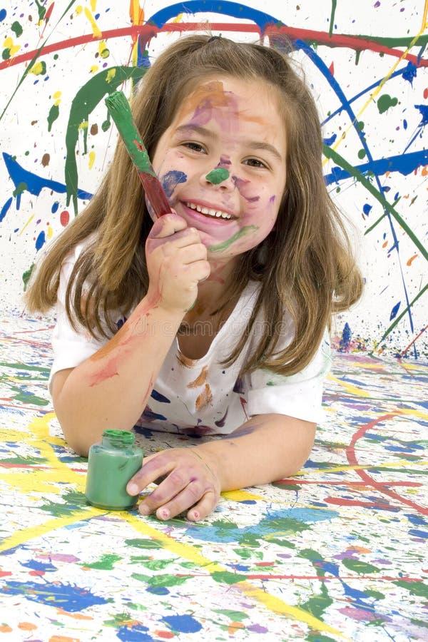 Beautiful Painter stock photos