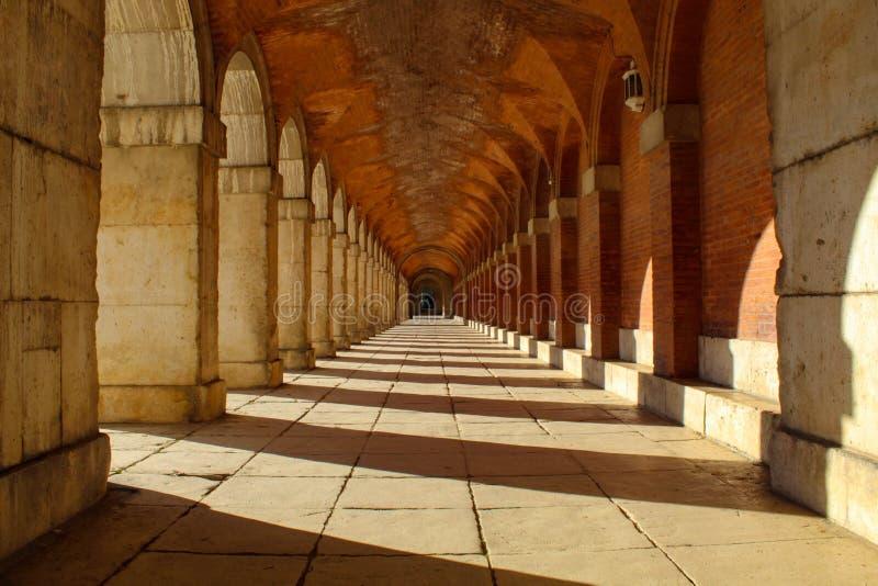 Beautiful Aranjuez Palace stock photography