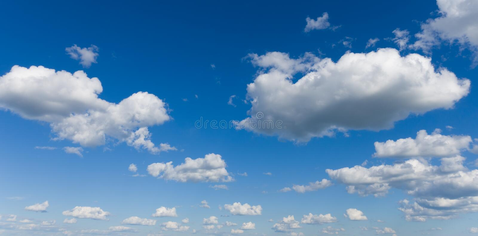 Beautiful panoramic sky. Professional shoot, no birds, no noise. Beautiful panoramic sky. Professional shoot without birds and noise stock images