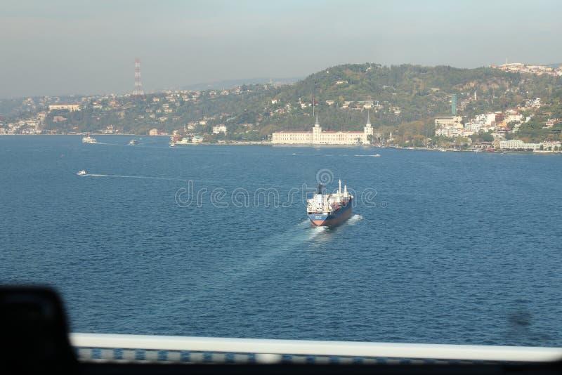 Beautiful panoramic view of the coast of Antalya royalty free stock image