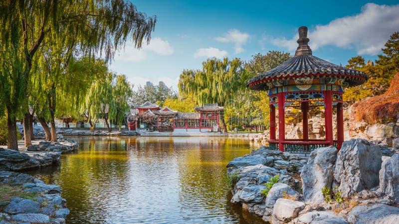Beautiful park in Beijing. China royalty free stock photos