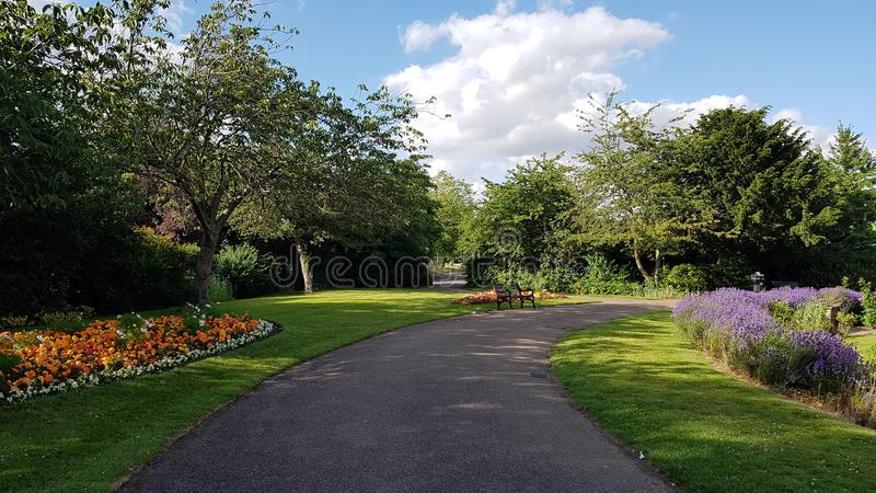 A Beautiful Park in London, UK. Nature, outdoor, garden royalty free stock photo