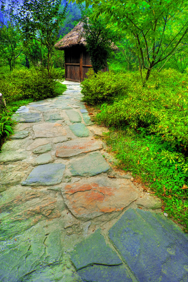 Beautiful Path royalty free stock image