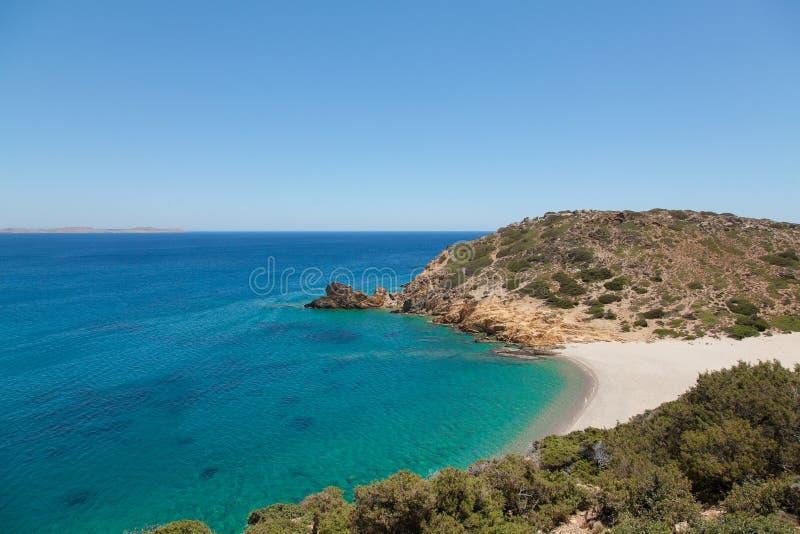Carribean Beauty: Beautiful Peaceful Tropical Beach Stock Image