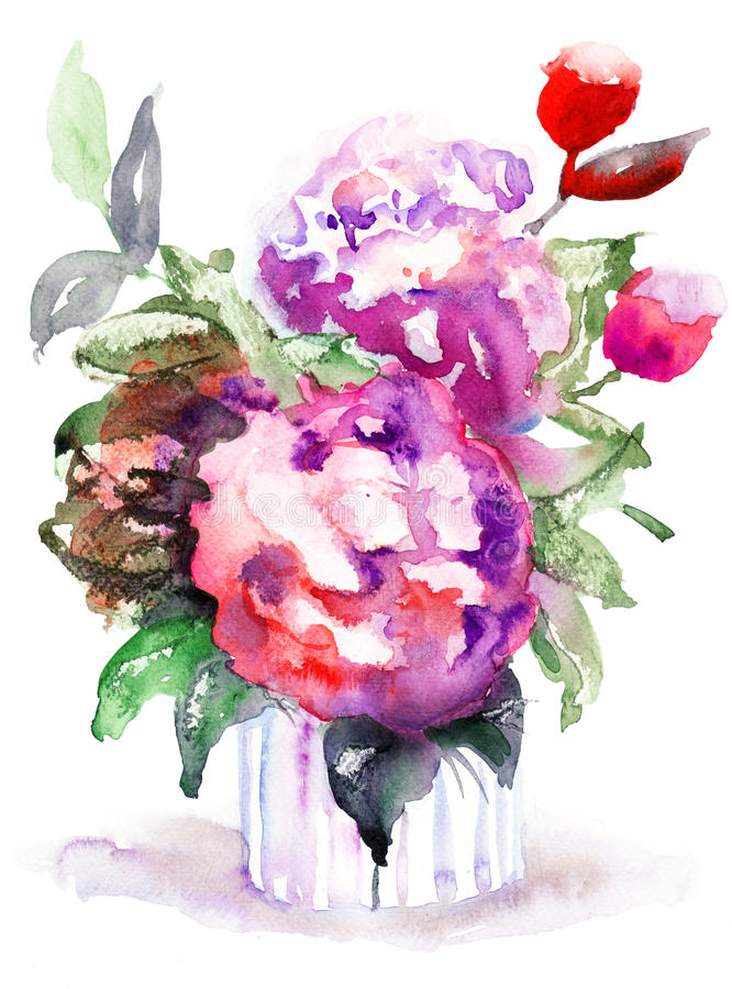 Download Beautiful Peonies Flowers Royalty Free Stock Images - Image: 28640179