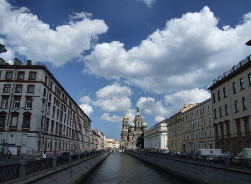 Beautiful Petersburg cityscape