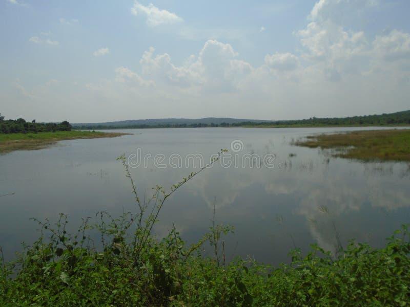 Beautiful photo of lake and sky. Beautiful photo of lake sky royalty free stock images