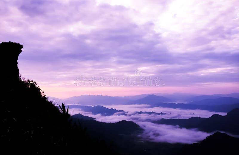 Phu chi fa in Chiangrai,Thailand. Beautiful of Phu chi fa in Chiangrai,Thailand stock photo