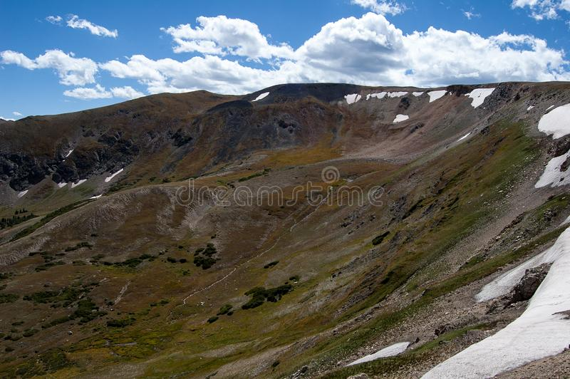 Scene from Rocky Mountain National Park stock image