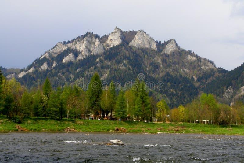 Pieniny mountains, Poland. Beautiful pieniny mountains in Poland stock images