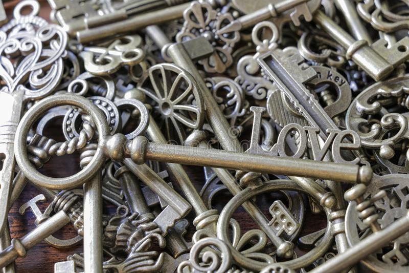 Pile Old Keys Lock Stock Photos - Download 222 Royalty Free Photos